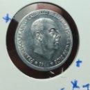 Monedas con errores: 50 CÉNTIMOS 1966 ERROR DESCENTRADA. Lote 168237453