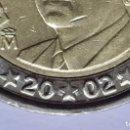 Monedas con errores: ## VARIANTES Y ERRORES ## 2 EUROS 2002 CON REPINTES EN LA FECHA Y ESTRELLAS ##. Lote 168361328