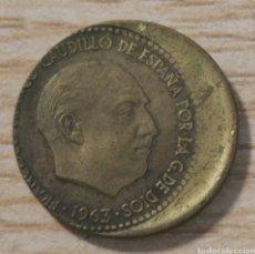 Monedas con errores: 1 PESETA, ERROR ACUÑACIÓN. Lote 168746514
