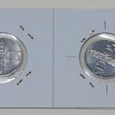 Monedas con errores: ## ERRORES Y VARIANTES ## 50 CÉNTIMOS DE 1966*68 REVERSO GIRADO - SIN CIRCULAR##. Lote 172405703