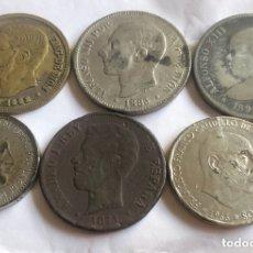 Monedas con errores: LOTE DE MONEDAS FALSAS. Lote 173505214