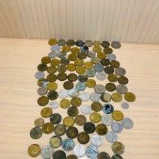 Monedas con errores: LOTE DE 108 MONEDAS VARIAS. Lote 175589717