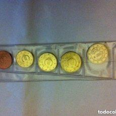 Monedas con errores: CHURRIANA.-- NOTA.-LAS MONEDAS DE 5,2 Y 1 CTS. SON DE ACERO-COBRE Y CON EL TIEMPO SE ENNEGRECEN. Lote 177229958