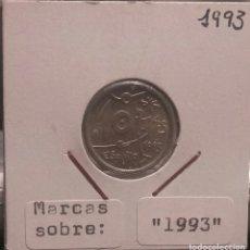Monedas con errores: 10 PESETAS 1993 SC ERROR (LEER DESCRIPCIÓN). Lote 181509052
