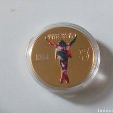 Monedas con errores: MONEDA DE MICHAEL JACKSON. Lote 182046485