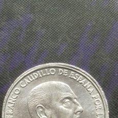 Monedas con errores: ESPAÑA FRANCO 50 CTS 1966*68 SIN CIRCULAR, VARIEDAD REVERSO GIRADO. Lote 182353893