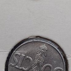 Monedas con errores: ESPAÑA FRANCO 50 CTS 1966*68 SIN CIRCULAR, VARIEDAD REVERSO GIRADO SC. Lote 182599753