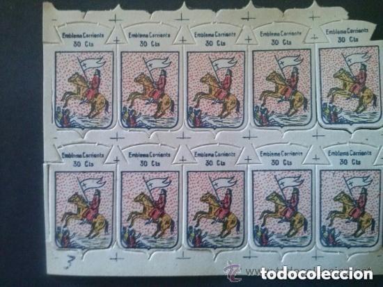 EMBLEMA AUXILIO SOCIAL 30 CTS- 10 UNIDADES (Numismática - España Modernas y Contemporáneas - Variedades y Errores)