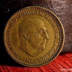 Monedas con errores: PESETA DE 1966*67: CANTO CORONA, DESCENTRAMIENTO, ETC. (REF. 691). Lote 186013222