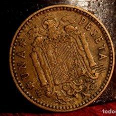Monedas con errores: PESETA 1963*65: GRANDES REPINTES EN ANVERSO Y REVERSO (REF. 692). Lote 186260093