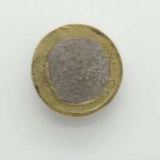 Monedas con errores: MONEDA DE 1 €URO ESPAÑA 2002 CON ERROR DE ACUÑACIÓN. Lote 190145785