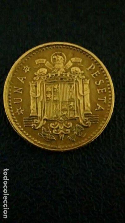 Monedas con errores: PESETA DE 1966 ESTRELLA 72 ERROR LEYENDA PARTIDA - Foto 2 - 193865538