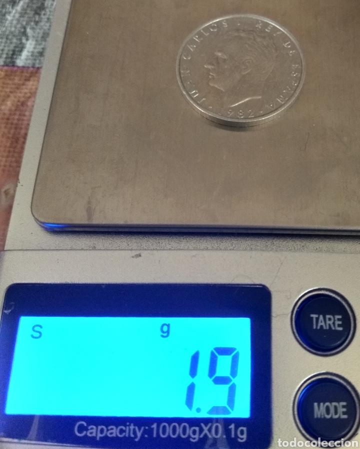 Monedas con errores: ÚNICA ( PRUEBA 2 PESETAS 1982 JUAN CARLOS I ) VER FOTOGRAFÍAS. - Foto 10 - 194011587