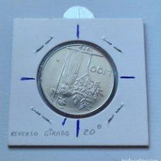 Monedas con errores: ## ERROR # 100 LIRAS DE ITALIA 1979 CON EL REVERSO GIRADO 20 º SIN CIRCULAR ##. Lote 195040290