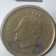 Monedas con errores: 100 PTAS. 1998 ERROR ACUÑACION. Lote 196283396