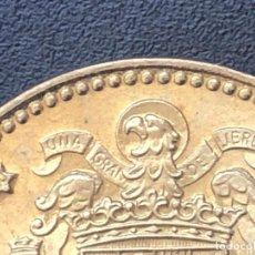 Monedas con errores: 1 PESETA 1975*80 GRAN EXCESO METAL. Lote 198401411