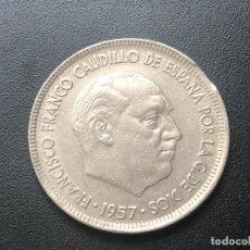 Monedas con errores: 5 PESETAS 1957*68 VARIOS ERRORES. Lote 198421271
