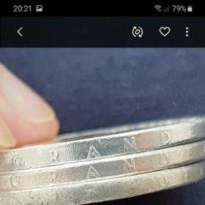 Monedas con errores: MONEDA PLATA 100 PESETAS FRANCO 1966 19 67 POSIBLE ERROR IMPRESIÓN CANTO. IMPORTANTE LEER. Lote 210562438
