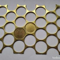 Monedas con errores: RARA PLANCHA O RIELERA DE 10 PFENNIG ALEMANES. Lote 84663032