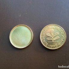 Monedas con errores: ## ERRORES Y VARIANTES ## COSPEL Y MONEDA DE 5 PFENNIG DE ALEMANIA ##. Lote 201482922