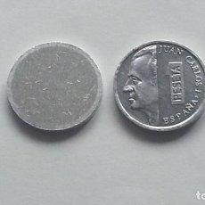 Monedas con errores: ## ERRORES Y VARIANTES ## RARÍSIMO COSPEL DE 1 PESETA 1989-2001 ##. Lote 201487968