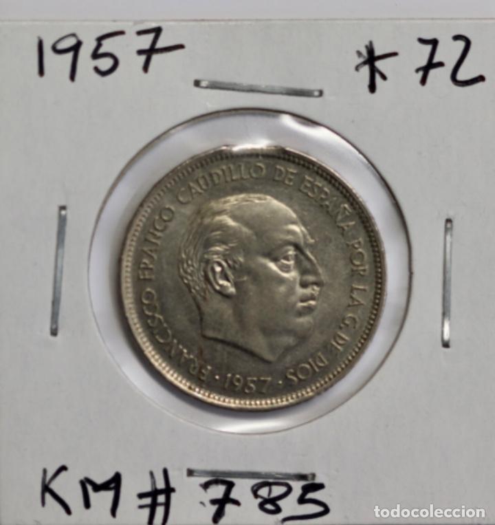 Monedas con errores: ERROR 25 PTAS, (72*)1957 - Foto 4 - 201950057