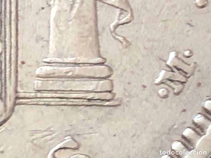 Monedas con errores: Impresionante 5 pesetas Amadeo I 1871 con 3 variantes - Foto 2 - 202395553