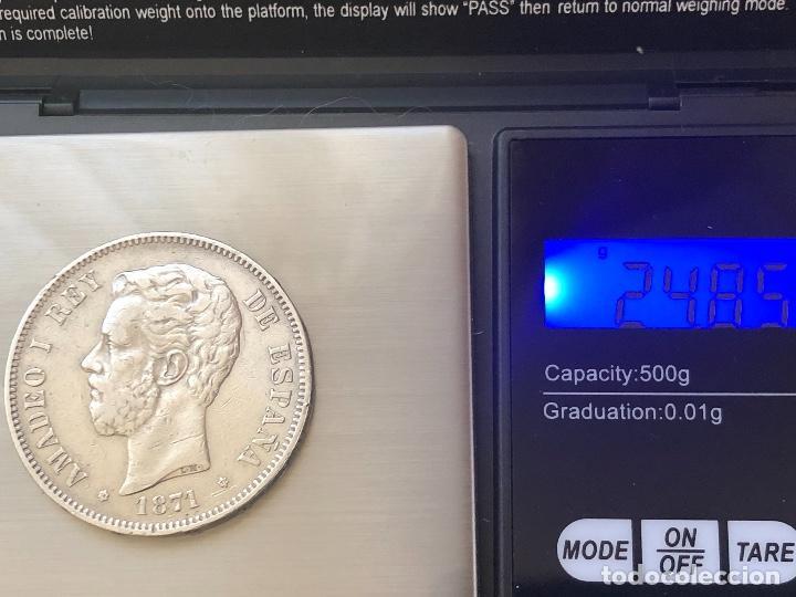 Monedas con errores: Impresionante 5 pesetas Amadeo I 1871 con 3 variantes - Foto 6 - 202395553