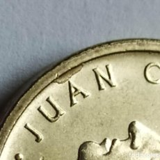 Monedas con errores: ## ERRORES Y VARIANTES # EXCESO EN 100 PESETAS 1992 ##. Lote 202656311