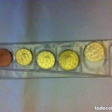 Monedas con errores: CHURRIANA - NOTA: LAS MONEDAS DE 5, 2 Y 1 CTS. SON DE @CERO- COBRE Y CON EL TIEMPO SE ENNEGRECEN. Lote 204750845