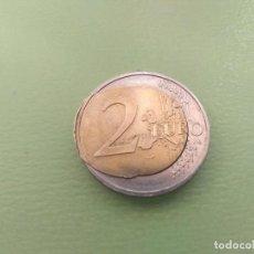 Monedas con errores: IMPRESIONANTE ERROR 2 EUROS HUEVO FRITO. ESTADO SIN CIRCULAR. Lote 206844125