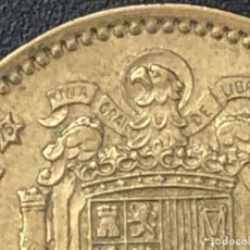 Monedas con errores: 1 PESETA 1966 IMPORTANTE EXCESO METAL. Lote 206879495