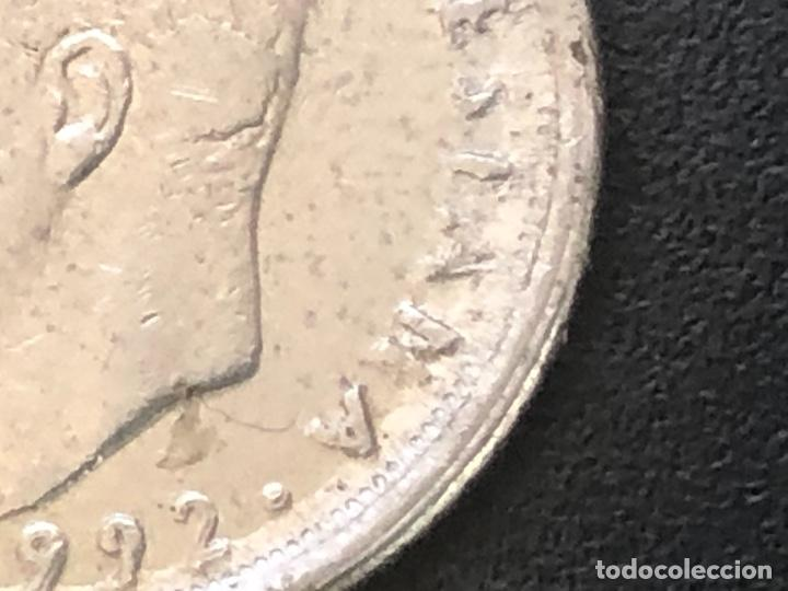 Monedas con errores: 10 pesetas 1992 - Foto 2 - 207592855
