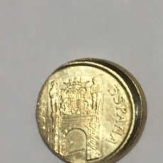 Monedas con errores: * ERROR IMPRESIONANTE * 5 PTS JUAN CARLOS MUY DESPLAZADA AÑO 1999.. Lote 209871768