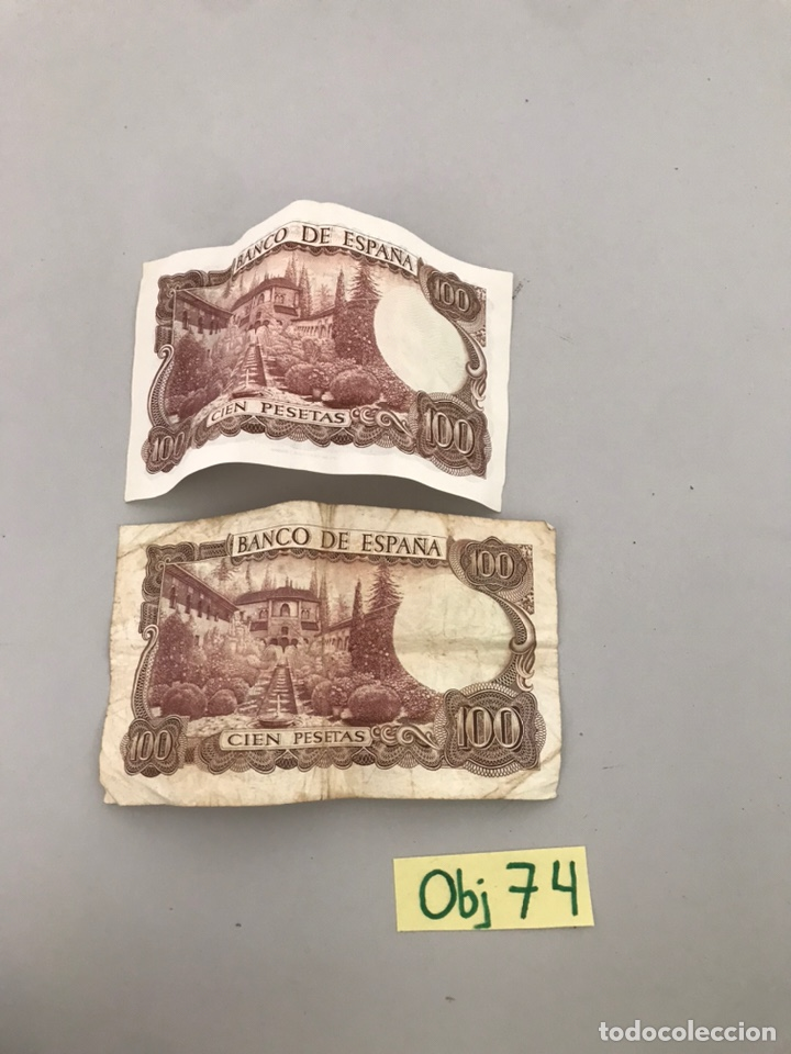 Monedas con errores: BILLETES DE 100 PESETAS - Foto 2 - 210654039