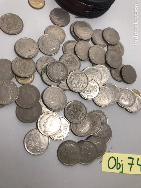 Monedas con errores: LOTE DE PESETAS - Foto 2 - 210654555