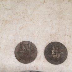 Monedas con errores: PAREJA MONEDAS CUÑADAS CNT.P4P FAI. Lote 210795481