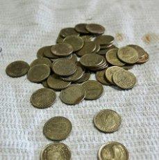 Monedas con errores: 50 MONEDAS DE 1 PESETAS. Lote 212255138
