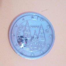 Monedas con errores: 2 CENTIMOS DE EURO, ESPAÑA, CON EXCESO DE METAL EN LA E.. Lote 211861958