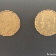 Monedas con errores: 100 PESETAS 1988 CABEZA GRANDE Y CABEZA PEQUEÑA. Lote 213141101