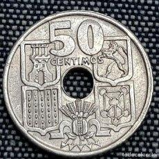 Monedas con errores: 50-CENTIMOS-1949-51 VARIANTE FLECHAS INVERTIDAS, MUY RARA PESO 3,99. Lote 214138552
