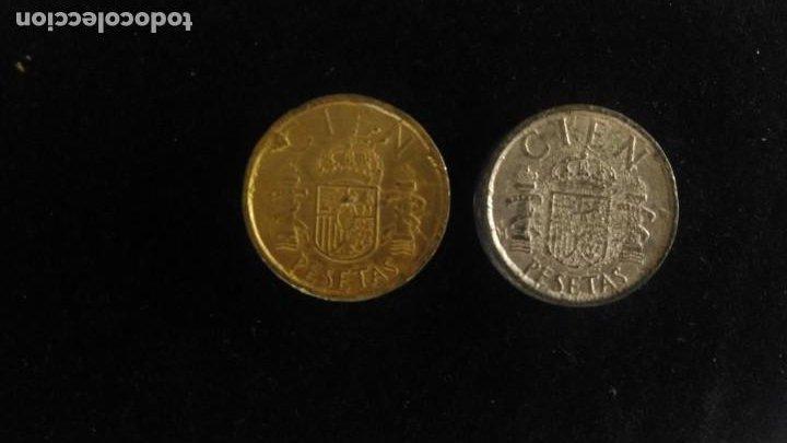 MONEDAS FALSAS DE ÉPOCA 100 PESETAS JUAN CARLOS I (Numismática - España Modernas y Contemporáneas - Variedades y Errores)