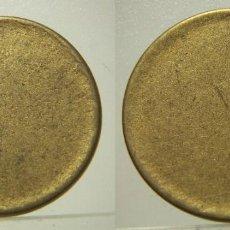 Monedas con errores: MONEDA DE 1 PESETA COSPEL SIN ACUÑAR. Lote 219017816