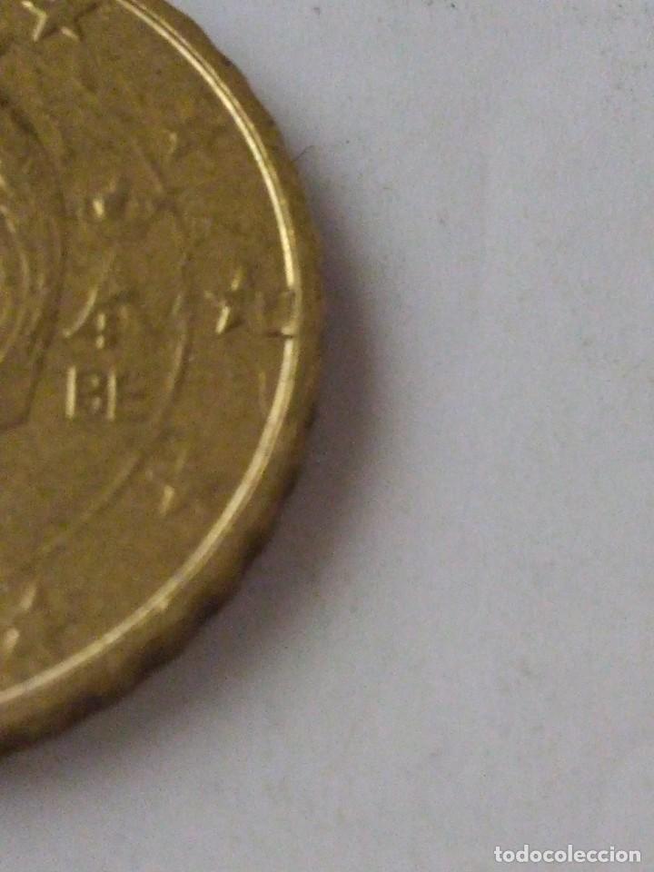 Monedas con errores: MONEDA 10 CENTIMOS DE EURO ERROR EXCESO METAL BELGICA 2010.CIRCULADA. - Foto 3 - 220388375
