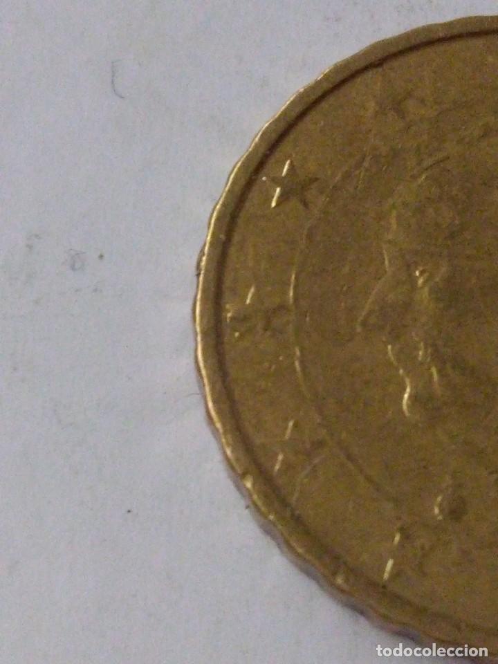 Monedas con errores: MONEDA 10 CENTIMOS DE EURO ERROR EXCESO METAL BELGICA 2010.CIRCULADA. - Foto 4 - 220388375
