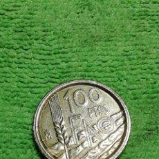 Monedas con errores: 100 PESETAS DE 1995 DE JUAN CARLOS I. VARIANTE. CON CANTO ANCHO. Lote 222581181