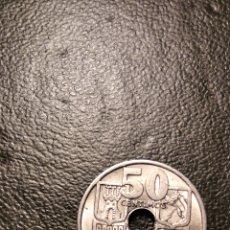Monnaies avec erreurs: 50 CÉNTIMOS PTAS. Lote 223256761