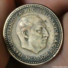Monnaies avec erreurs: A07. VARIANTE / ERROR. 1 PESETA 1947 *56. UNA GRANDE LIBRE COMPLETO. Lote 223575252