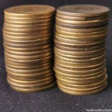 Monnaies avec erreurs: A19. VALOR DE MERCADO 300€!!! 43 ERRORES CANTO CORONA Y OTROS MÚLTIPLES! 150G. VER DESCRIPCIÓN. Lote 223765368
