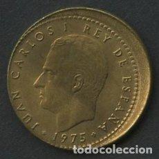 Monnaies avec erreurs: ESPAÑA, MONEDA, ERROR, VARIANTE, JUAN CARLOS I, 1 PTA, DESPLAZADA, 1975, *79. Lote 224722927